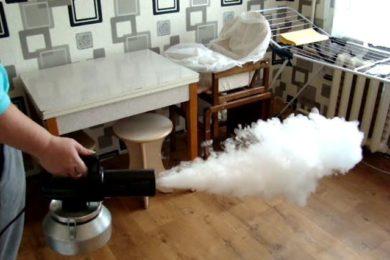 Удаление запахов и пятен